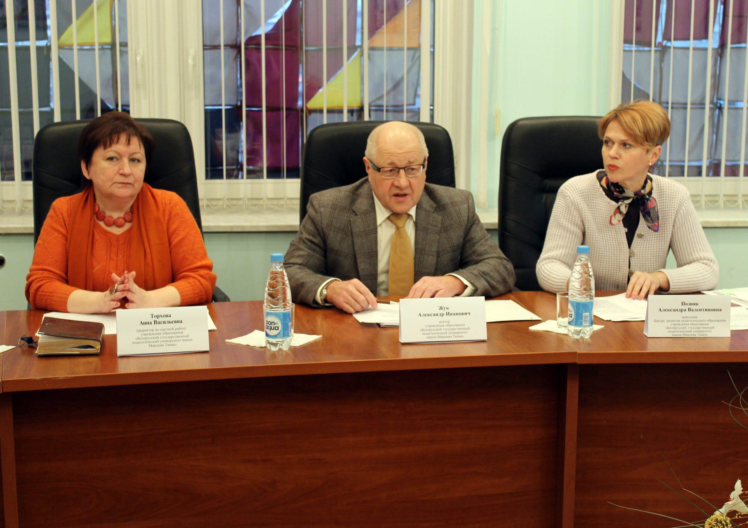17 декабря 2015 года состоялось второе заседание Координационного совета по вопросам непрерывного педагогического образования